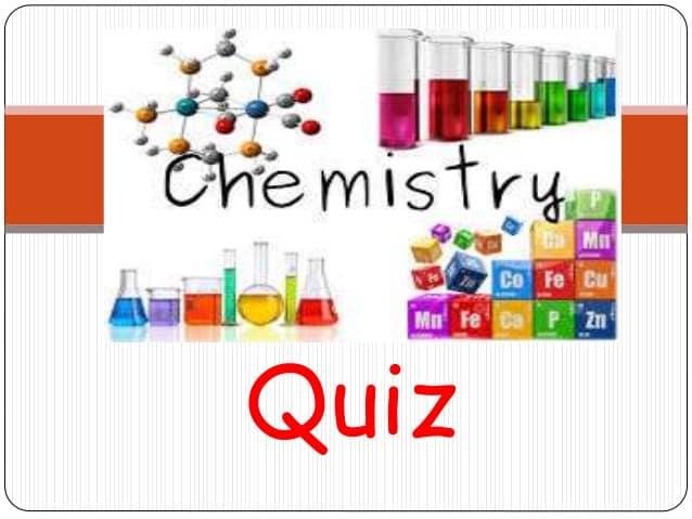 BSC I CHEMISTRY QUIZ